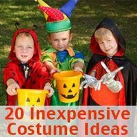 20 inexpensive halloween costume ideas - Inexpensive Halloween Costume