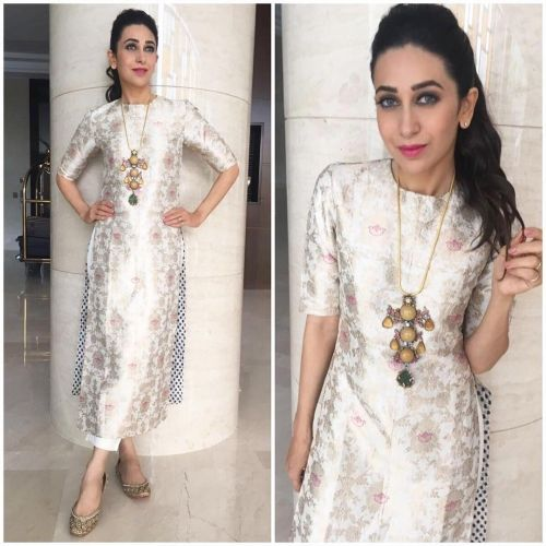 Karisma Kapoor wearing Raw Mango in Kochi