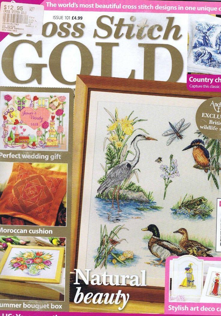 CROSS STITCH GOLD Magazine Issue 101 Wedding Fashion Flowers Cards Dogs Birds  – Think Weddings