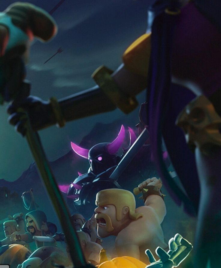 CLASH OF CLANS PHONE WALLPAPER!!!