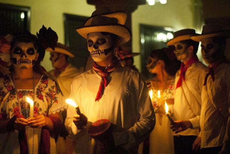 PHOTOS: Stunning Día De Muertos Celebrations All Over Latin America