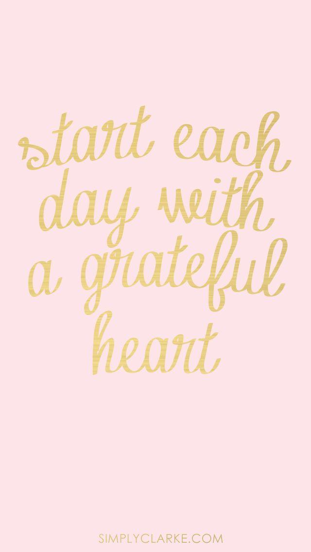 A good morning reminder!