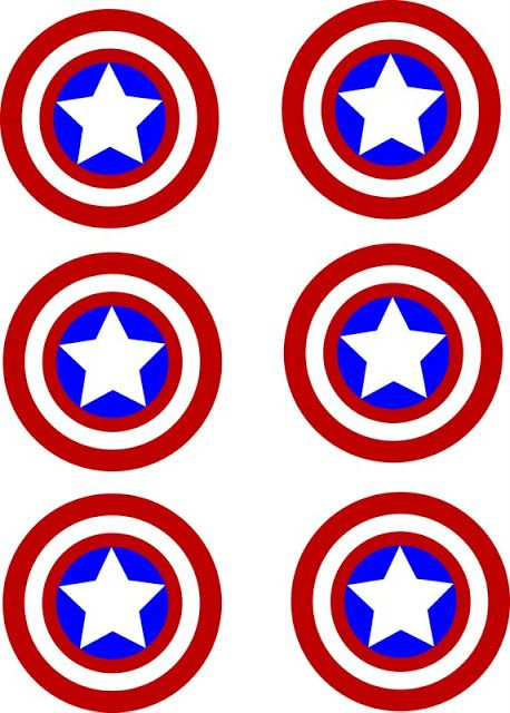 Robyn Crumby: Free Captain America Stickers
