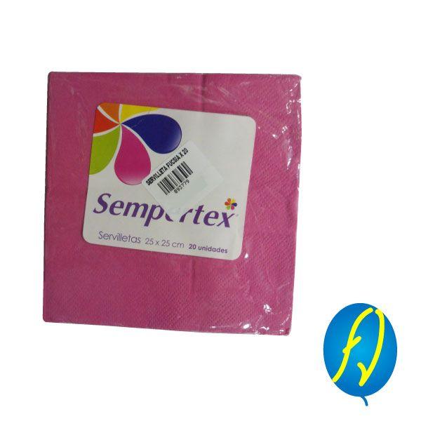 SERVILLETA FUCSIA X 20 SEMPERTEX, un producto más de Piñatería Fiesta Virtual de Colombia - lo puedes ver en http://bit.ly/2smzZgq. #FiestaVirtual