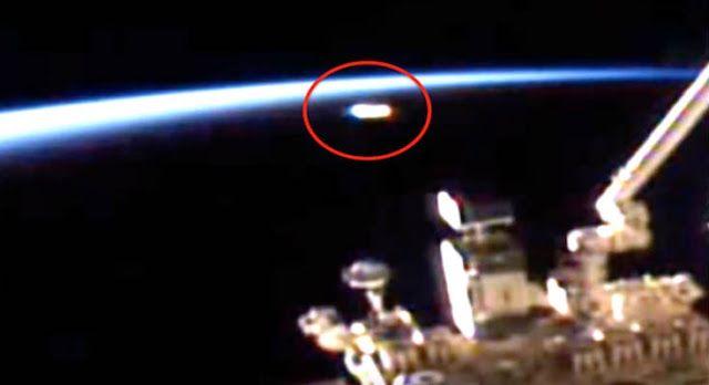 AWAKENING FOR ALL: ISS: Huge UFO Sighting!