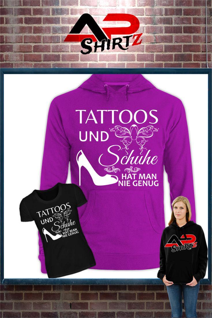 Tattoos und Schuhe hat man nie genug...    Hier erhältlich: https://www.shirtee.de/tattooschuhe <<<<     Sicherer Zahlungsverkehr     Qualitativ hochwertige Textilien     Versand aus Deutschland Weitere Designs im Shop:  http://apshirtz.shirtee.de <<<<<<