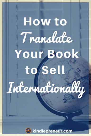 How to get your book translated