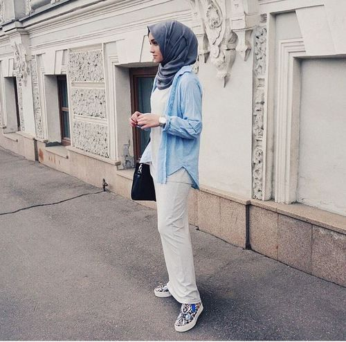 Image de fashion, hijab, and alexandra golovkova