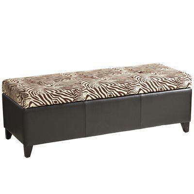 zahir storage bench i. Black Bedroom Furniture Sets. Home Design Ideas