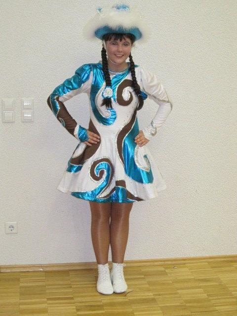 So kommt Karnevalsstimmung auf: Funkenmariechen-Kostüm von Kathrin