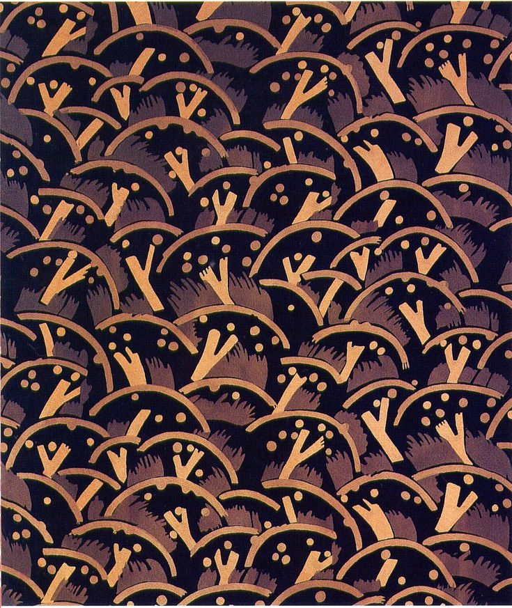 Textile designed by Paul Nash 1925 IrfanView HTML-Thumbnails