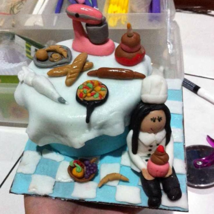pastry chef cake !