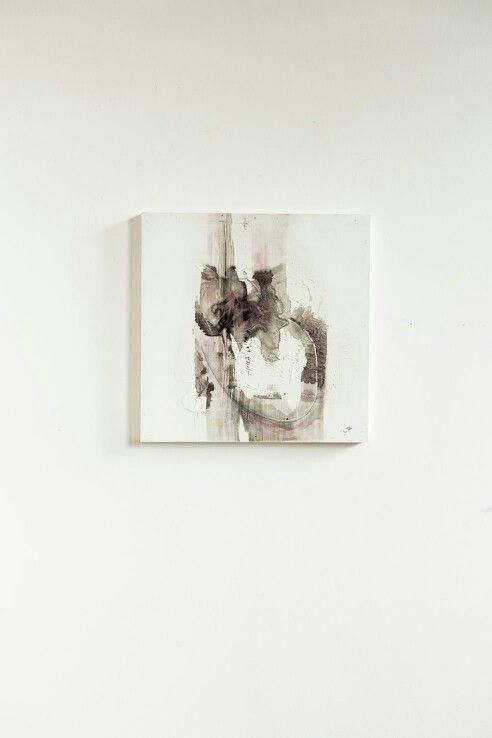 Janine Holloway-(In)animate 2-Mixed Media-300x300mm-Sold