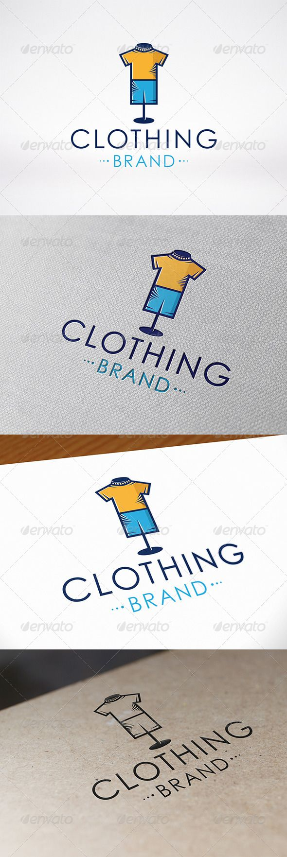 Clothing Logo Template — Vector EPS #baby #jeans • Available here → https://graphicriver.net/item/clothing-logo-template/6643123?ref=pxcr