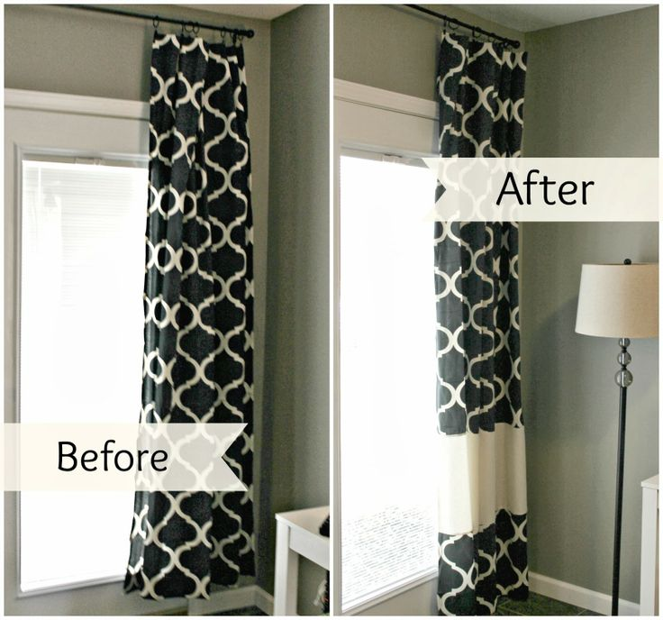 For The Kitchen Curtains: Insert Other Way So The Curtains Are Wider Instead Of Longer