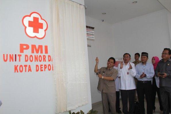 Gedung PMI Cabang Depok diresmikan Walikota Depok