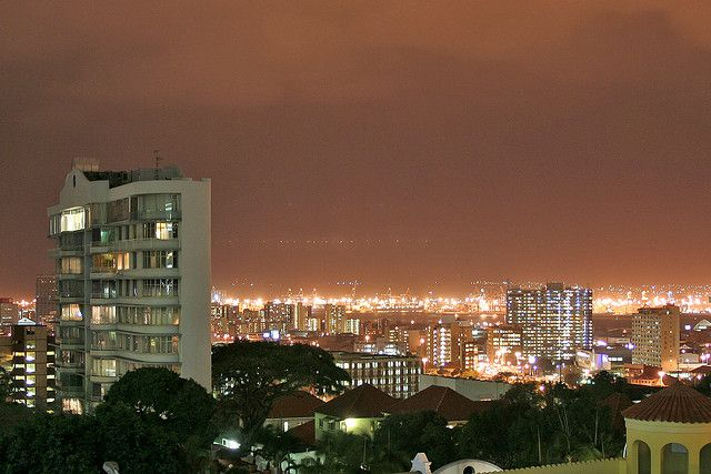 Durban Musgrave at Night