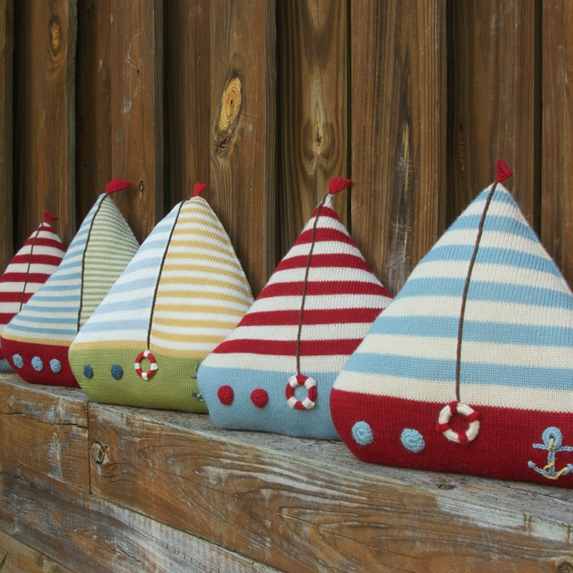 Sailboats SS13  Boys bedroom or nursery-  these would be adorable