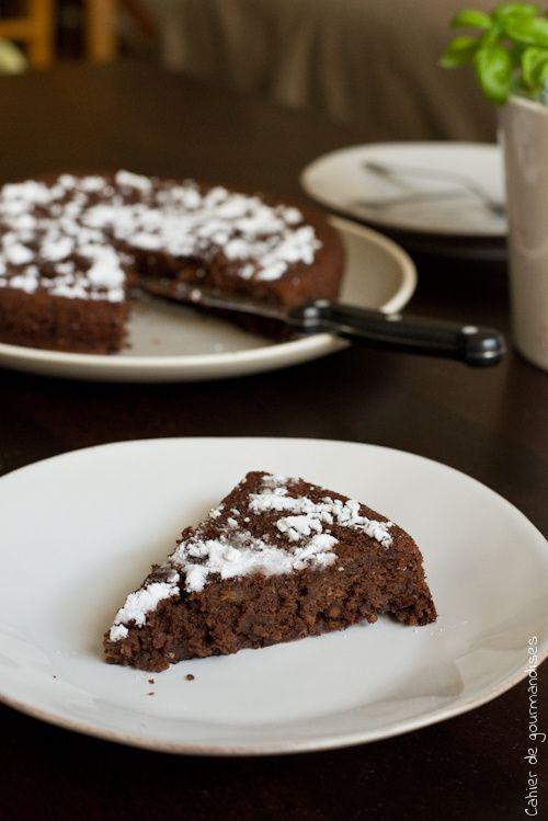 Gâteau aux courgettes sans beurre