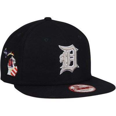 Detroit Tigers New Era State Stare Original Fit 9FIFTY Snapback Adjustable Hat…