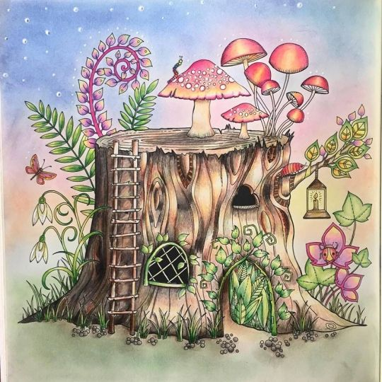 854 Best Enchanted Forest Coloring Book Images On Pinterest