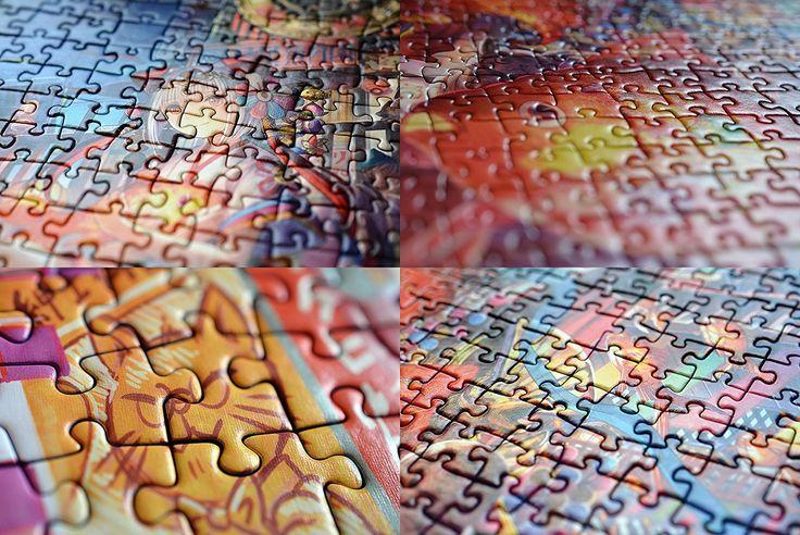 Flow of goldfish fantasy jigsaw puzzle 1000