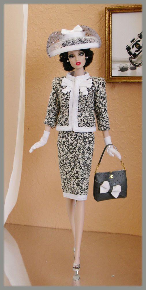 OOAK Fashions for Silkstone / Fashion Royalty / Vintage barbie / Poppy Parker