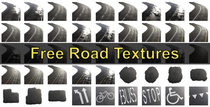 49 PBR Road Textures for free (CC0) BlenderNation Road