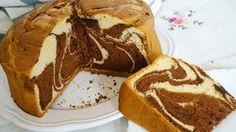 Prepara este bizcocho marmolado suave, alto y esponjoso con esta receta paso a paso y verás qué desayunos y meriendas más ricas