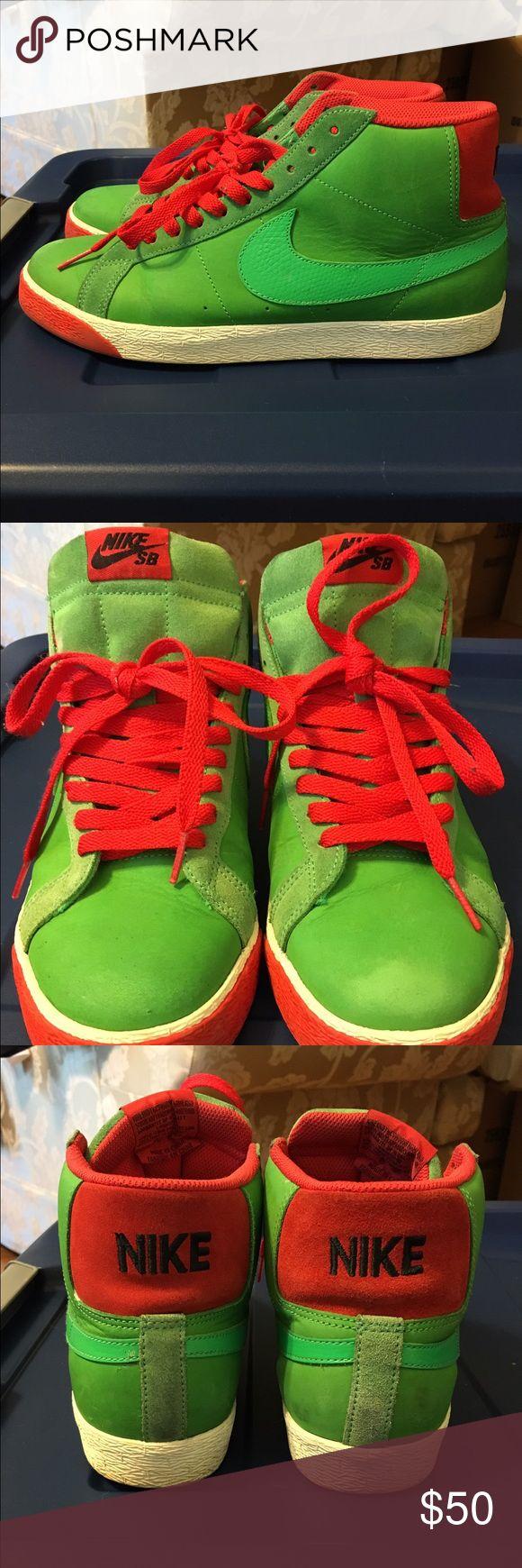 Nike SB Blazer 7/10 no box. Unoriginal inserts Nike Shoes Sneakers