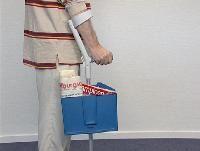 Träger für Rollstühle, Rollator oder Krücke