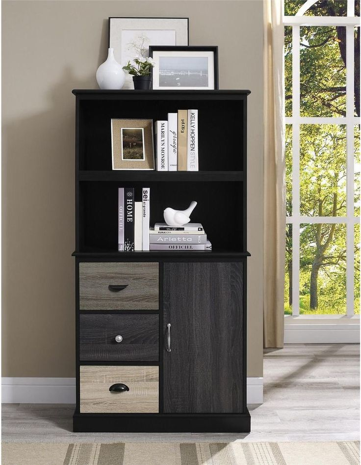 Contemporary Storage Bookcase Cabinet Display Adjustable Shelf Furniture New #Altra #Contemporary #Storage #Bookcase #Cabinet #Furniture