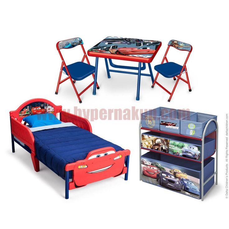 Trojdielny set nábytku Disney Cars