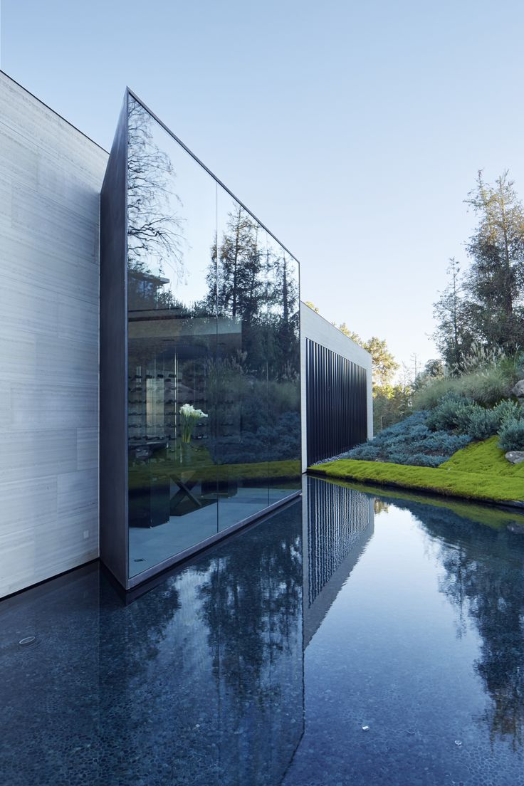 Refecting on nature. Oppenheim Architecture