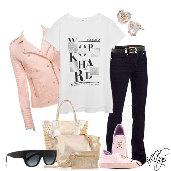 T shirt http://bit.ly/1Q9XAWg Jacket http://bit.ly/1RtPrkC Jeans http://bit.ly/1SKIJZl Sneakers http://bit.ly/1PpiJhS Sunglasses http://bit.ly/1TVlv1w Belt http://bit.ly/1PPWoeX Earrings http://bit.ly/1QaVfAs