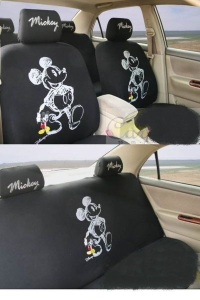New Mickey Mouse Car Seat Covers 0204 Cosas Para Comprar