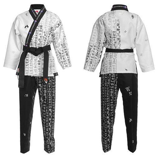 MUDOIN Taekwondo Hangul Wrap Uniforms