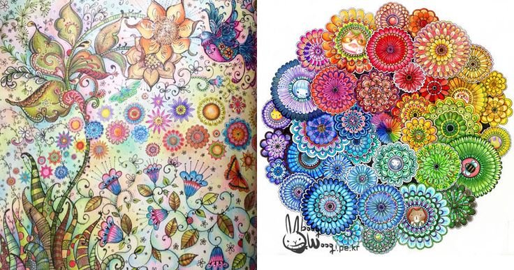 """Meet The Woman Who Sold A Million Copies Of Her Coloring Books For Adults = """"Coloring seems to help people think about a time when life was simpler and more carefree."""""""