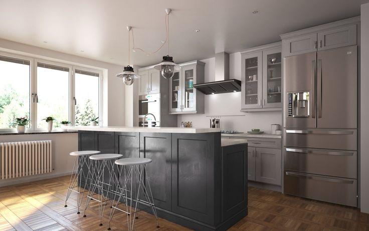 Sleek City Style: Minimalist Design for Small Kitchens