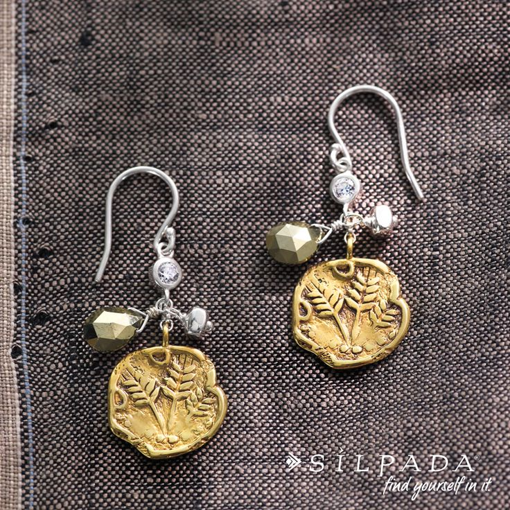 METAL MIX-UP: Perfect Composition Earrings from #Silpada