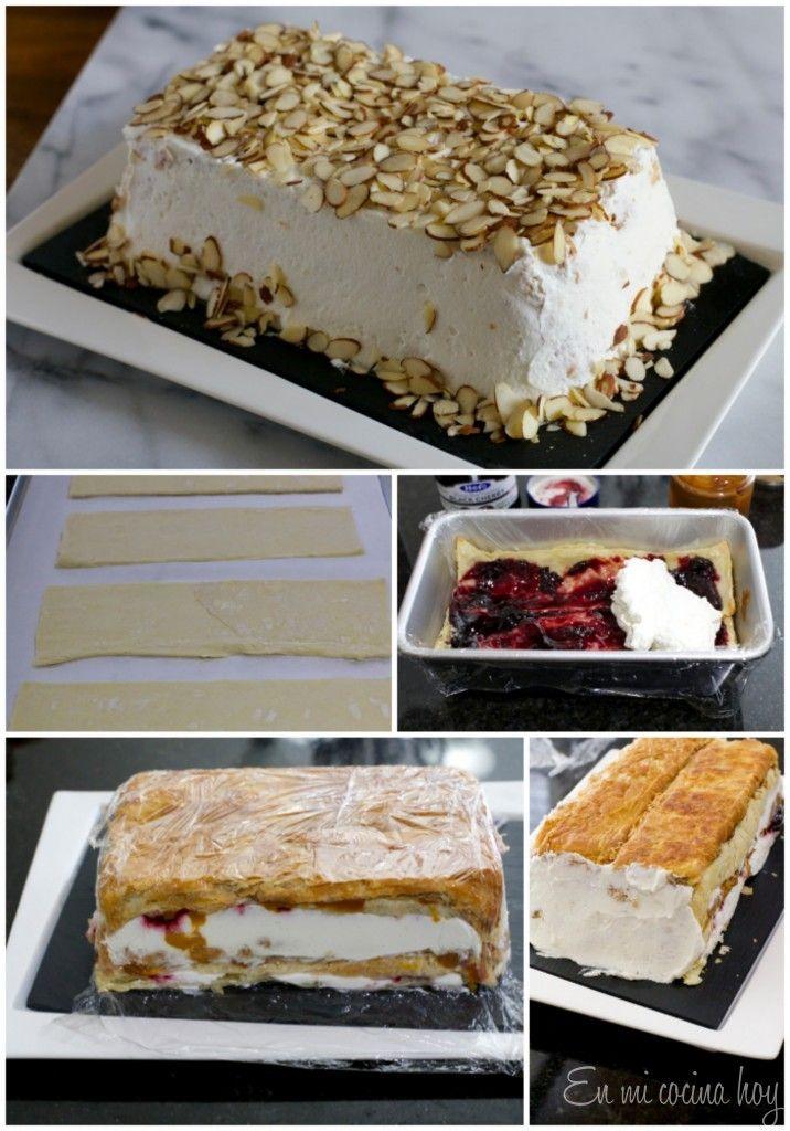 Receta Torta Pompadour de guinda