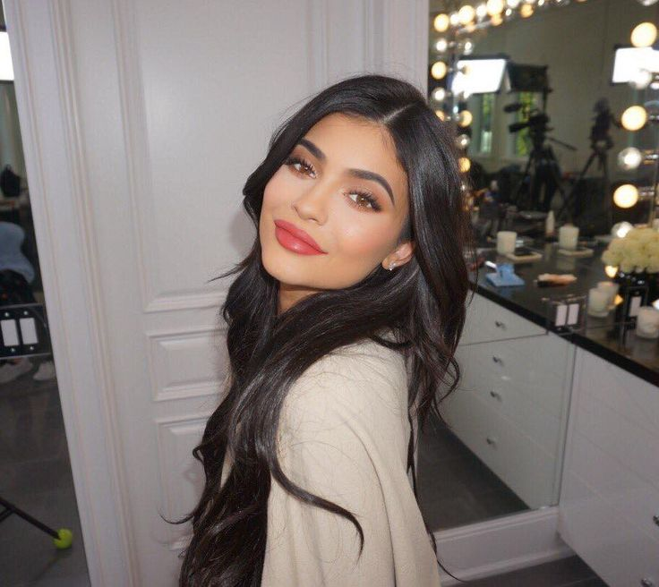 """Why Kylie Jenner's New Lip Kit Shade """"Kristen"""" Is Extra Special via @ByrdieBeauty"""