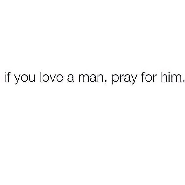 And vice versa #prayeriseverything God doesn't bless a relationship He isn't involved in.