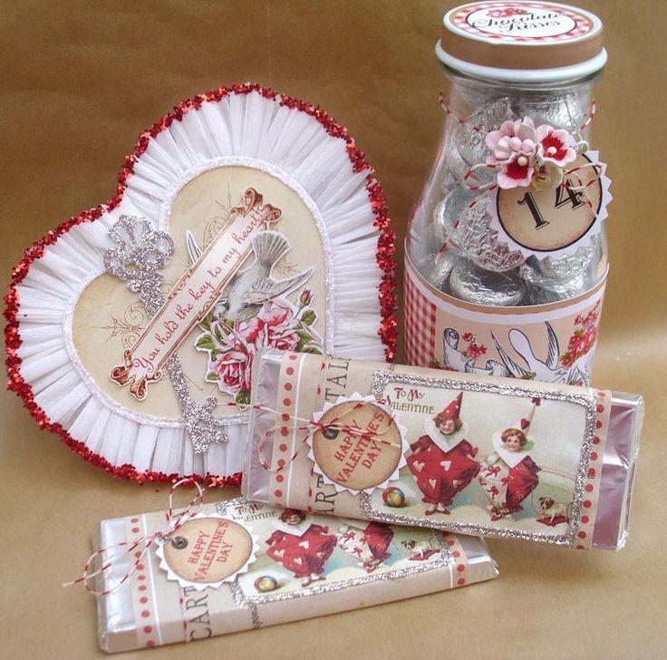vintage valentine vintage valentine angel vintage valentine love the soft vintage colors - Vintage Valentine Decorations