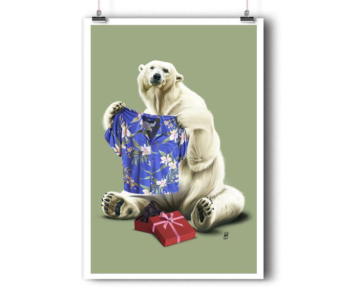 Cool (Colour) | Shop art | decor | wall art | inspiration | caricature | home decor | idea | humor | gifts