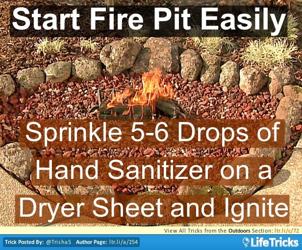 Start a Fire Pit Easily