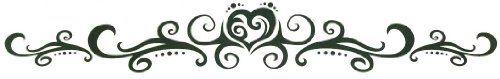 "Tribal Heart Lower Back or Armband Temporary Body Art Tattoos 1.5"" x 9"" TMI http://www.amazon.com/dp/B0095MNKW4/ref=cm_sw_r_pi_dp_shabwb13Q9795"