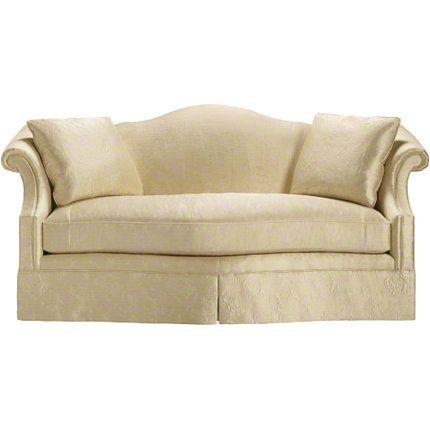 Baker furniture camelback sofa 6513 81 sofas for Affordable furniture in baker