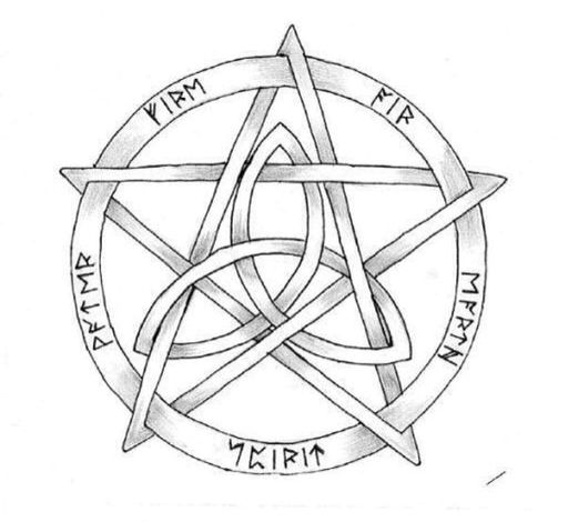 best 25  wiccan tattoos ideas on pinterest