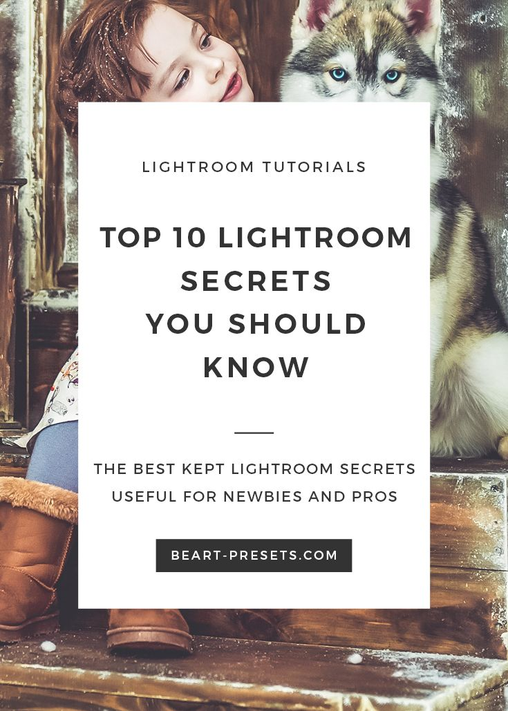 The aim of the article is to tell about several secrets of Lightroom and introduce to you the alternative, but quite convenient ways that will help to solve everyday tasks relating photo post-processing. Schedule